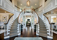 Custom Staircases and Railings by Gopher Wood Construction Inc