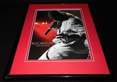 Jay Z 2008 Rocawear Evolution Framed 11x14 ORIGINAL Advertisement