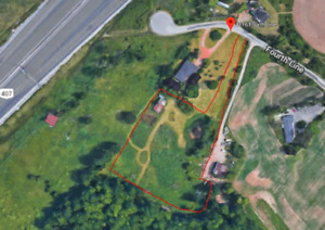 3+ ACRES COMM LAND FOR LEASE-HEART OF OAKVILLE-1m to 407
