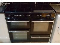 Leisure Electric Range cooker + Extractor hood- Can deliver if needed