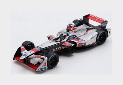 Venturi Formula-E Team #5 Paris Eprix 2017-2018 M.Engel SPARK 1:43 S5924 Model