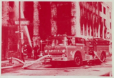 1985 Fire Apparatus Photo Album of the Ford Tilt-Cabs Firefighting Magazine