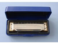 M Hohner Blues Harp in C. New and unused