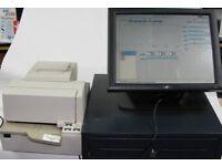 Epos system fully licenced software drawer & printer restaurant & bar