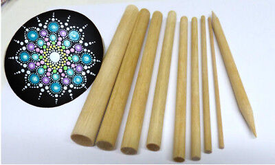 Mandala dotting tools, with instructions, Rock Painting, Dot Art, Crafts