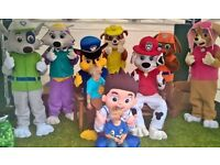 PAW PATROL mascot for sale BRAND NEW best version marshal,chase,rocky,zuma,everest,pokemon+more LOOK