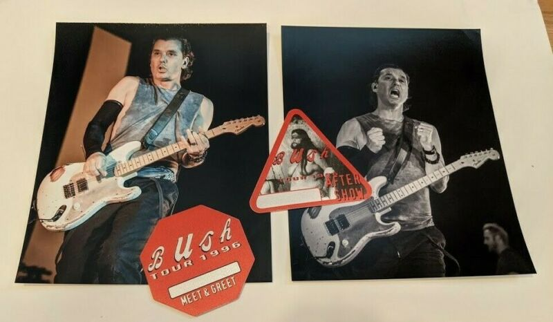 Bush - Gavin Rossdale concert photos and backstage passes