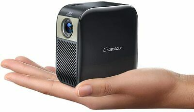 Mini Projector, Portable Pocket LED Projector Supports Full HD, Pico DLP Video