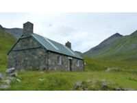 WANTED RURAL PROPERTY OR LAND TO RENT THEN BUY - SCOTTISH HIGHLANDS/ISLANDS