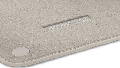 Mercedes Benz Original Velours Fussmatten Beige C 257 CLS Coupe LHD 03/2018 Neu
