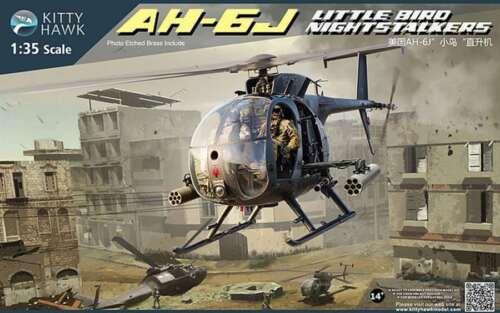 Kitty Hawk 1/35 AH-6J Little Bird Nightstalkers Helicopter #50003