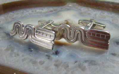 Paar Designer Marken Manschettenknöpfe ( 835 Silber ) Cufflinks