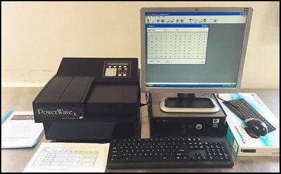 Bio-tek Powerwave X Microplate Reader 200-900 Scanning Spectrophotometer