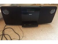 Philips Microsystem DCM278 CD Player & USB, Ipod, Iphone Docking Station - offers accepted