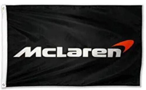 McLAREN 3X5 FLAG BANNER PERFORMANCE RACING F1 IMSA SENNA P1 720 MINI GT POSTER