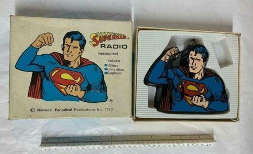 Vintage Superman Portable Solid State Radio