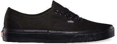 Vans Authentic Shoes Low Top Women Size Sneakers VN000EE3BKA - Black Black