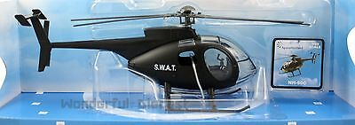 Newray Agusta Westland NH-500 1/32 scale diecast model S.W.A.T. helicopter N316