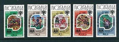 Nicaragua Year of Liberation &1980 Olympic Games stamps. Mint. Sg 2208-2212.