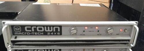 Crown Macro-Tech MA 24x6 2-Channel Power Amplifier Free Shipping