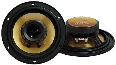Pair 6.5 Inch Quality Low-cost 2-way Car Audio Stereo Speakers Pyramid 652gs
