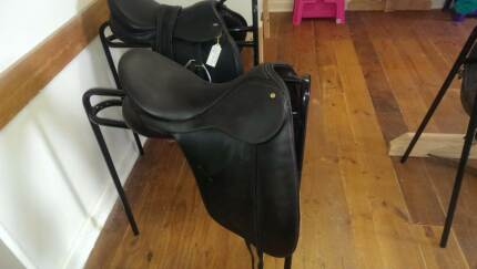 bates caprilli brown dressage saddle Port Pirie Port Pirie City Preview