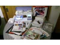 Brother Innov-is 700E II Embroidery Machine + Starter kit
