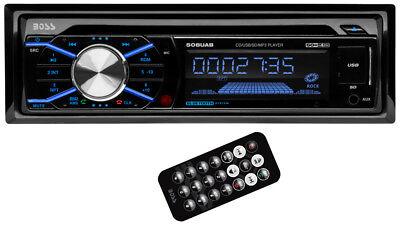 Купить BOSS - Boss 508UAB In Dash CD Car Player USB/SD MP3 Stereo Audio Receiver Bluetooth