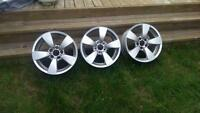3 (Three) BMW E60 Rims