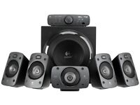 Logitech z906 5.1 surround sound speaker system as new £150