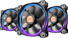 Thermaltake - Riing 120mm Case Cooling Fan - Blue/Green/Red/White
