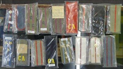 Dealer's Lot - 17 Pairs of Soviet Shoulder Boards - SB#2