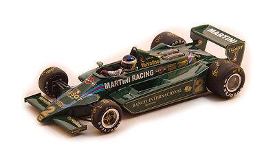 OSTORERO ODG 155 Lotus 79 Martini Racing Carlos Reutemann  NEW Handmade in Italy