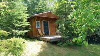 Tiny Waterfront Cabin w/270 ft. on Winnipeg River Kenora