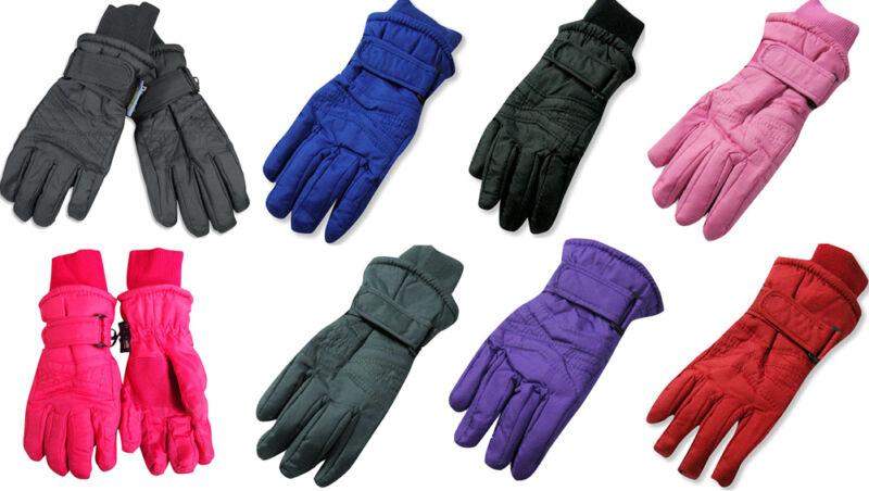 Winter Warm Up Toddler Boys Girls Unisex Fits 2-4 Thinsulate Waterproof Gloves
