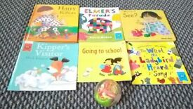 6 x Baby books bundle