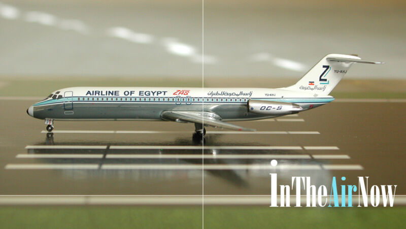 ZAS Airlines of Egypt Aeroclassics : LTD 60 units