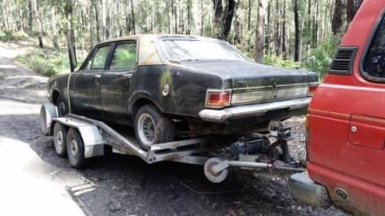 Wrecking Holden HK HT HG sedan ute wagon van Warburton Yarra Ranges Preview