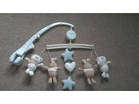 Musical Cot Mobile Help your little on to drift off to sleep with this neutral musical mobile