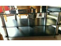 "TV stand unit for up to 46"" TV, approx 105cm x 45cm x 50cm"