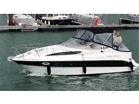 Bayliner 265 cruiser boat