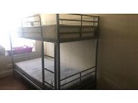 bunk bed £150