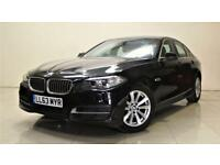 BMW 5 SERIES 2.0 520D SE 4d AUTO 181 BHP + TOP SPEC WITH ALL THE EXTRAS (black) 2013