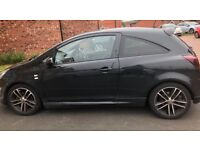 Reduced! MOT FSH low mileage Vauxhall corsa 1.4ltr Eco Black Edition