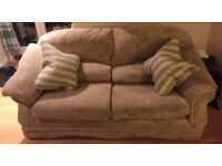 Big soft 2 seater sofa great condition
