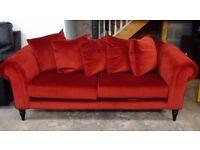 large fabric sofa