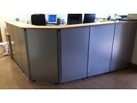 HIGH QUALITY OFFICE RECEPTION DESK AS GOOD AS NEW -£200,