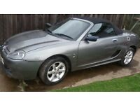 2005 MGTF 1.6 CONVERTIBLE LOW MILEAGE RECENT CAMBELT & SERVICE MG