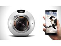 Samsung Gear 360 Camera Action Camcorder BRAND NEW RRP £349.0