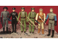 Vintage star wars,general madine,Death squad commander,Imperial commander